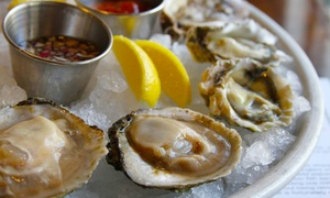 Wild Edibles Oyster Bar: $25 for $40 Worth of Seafood and Drinks at Wild Edibles Oyster Bar