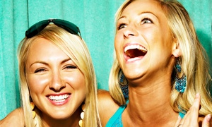 Creative DJ's Photo Booth Rentals: Two- or Four-Hour Premium Photo-Booth Rental from Creative DJ's Photo Booth Rentals (Up to 63% Off)