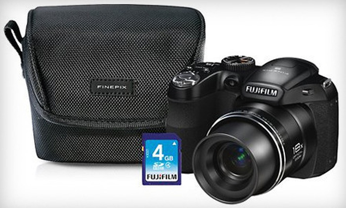 Beach Camera: $149 for a Fuji Finepix S2980 Camera Bundle ($229.99 Value)