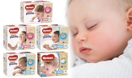 .95 for a Huggies Ultimate Nappy Pants Pack for Girls or Boys in a Choice of Size Don't Pay up to $56.68
