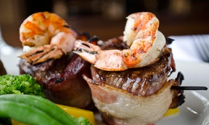 Steak Loft: $29 for $50 Worth of Lunch or Dinner for Two or More at Steak Loft