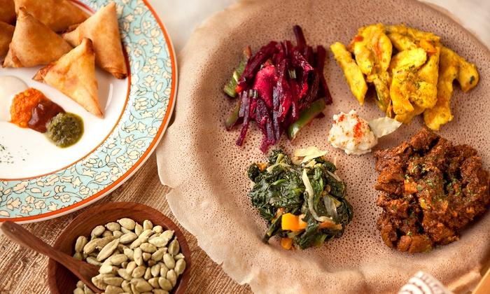 Queen of Sheba Ethiopian Restaurant - North Druid Hills: $10 for $15 Worth of Dinner at Queen of Sheba Ethiopian Restaurant
