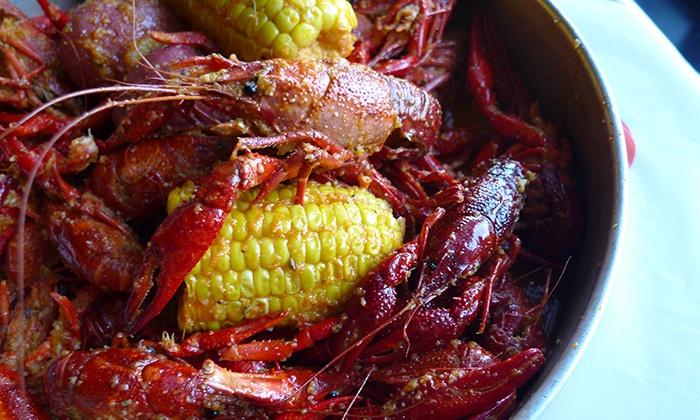 Chasin' Tails Cajun Seafood & Bar - Arlington/Falls Church: $12 for $20 Worth of Shellfish and Seafood at Chasin' Tails Cajun Seafood & Bar