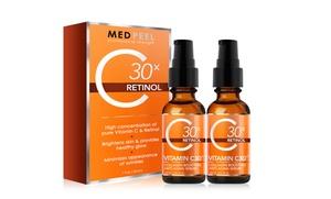 1 Or 2 Bottles Of Vitamin C30x Retinol Serum
