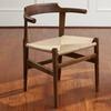 Sadler Tan Modern Wooden Chair