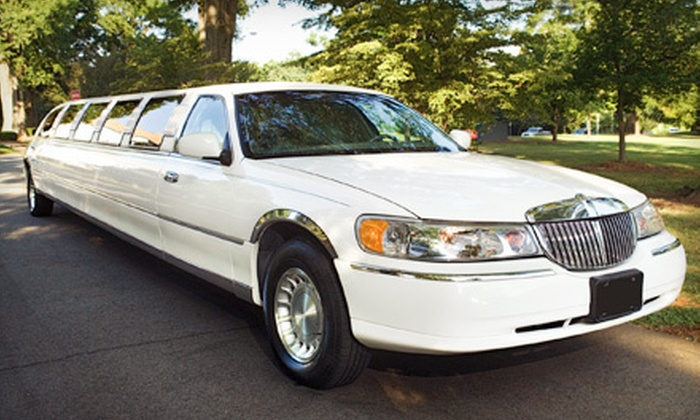 Luxury Limousine Service - Country Club Plaza: 60- or 90-Minute Limousine Tour for Up to 10 People with Champagne from Luxury Limousine Service (Up to 58% Off)
