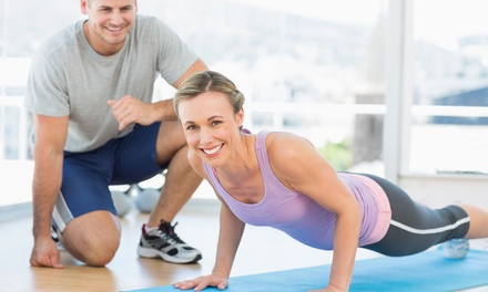 Four or Six 30-Minute Personal-Training Sessions at Platinum Health, Fitness & Yoga (65% Off)