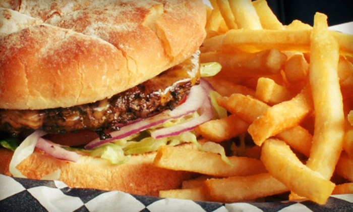 All Star Pub - Mohegan Bowl-A-Drome: $15 for $30 Worth of American Food and Drinks for Two or More at All Star Pub