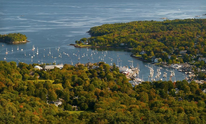 Bay Leaf Cottages & Bistro - Lincolnville: Four-Night Stay with Sailing Tickets, Lobster Dinner, and Dog Daycare at Bay Leaf Cottages & Bistro in Lincolnville, ME
