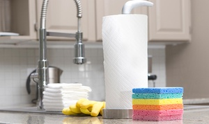 Sunshine Cleaning: Two or Four Man Hours of Residential or Commercial Cleaning from Sunshine Cleaning (Up to 60% Off)