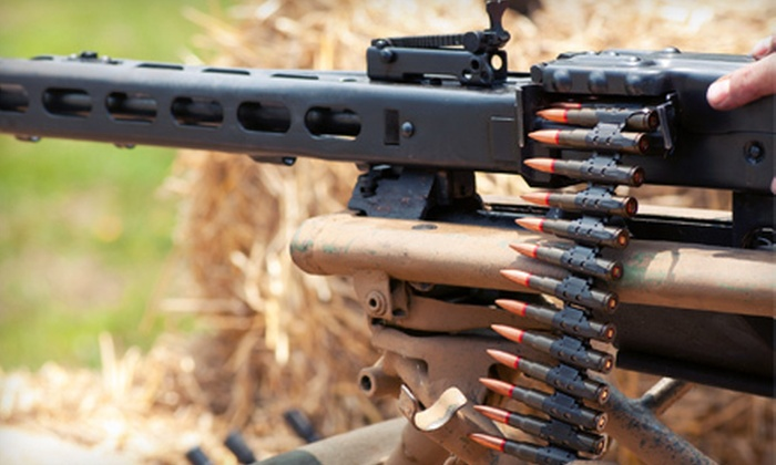 Desert Hills Shooting Club - Clark: $55 to Shoot Select Automatic Weapons Including Rounds at Desert Hills Shooting Club in South Boulder City ($110 Value)