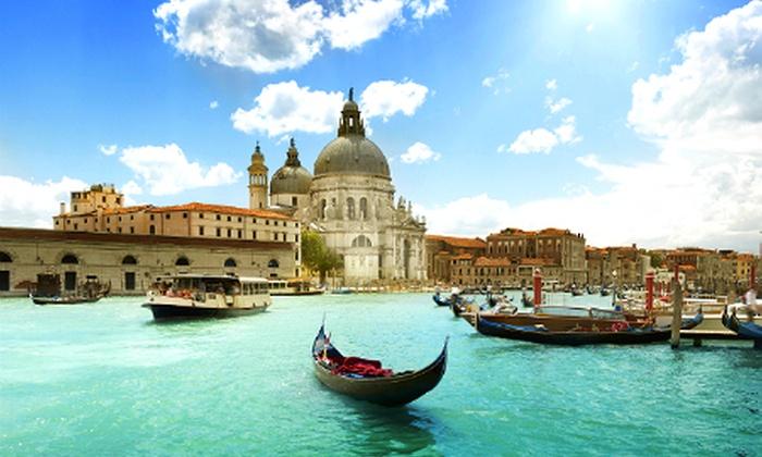 Holidaysbooked - Merchandising (BE): Venise 4* : 2 à 4 nuits avec petits déjeuners à l'hôtel Ambasciatori et vols A/R dès 129 € p.p.