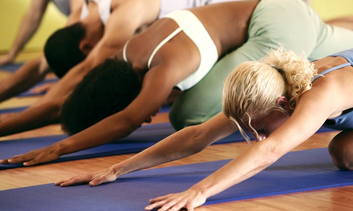 Chakra 1 Yoga - Multiple Locations: 5 or 10 Power Yoga Classes at Chakra 1 Yoga (Up to 51% Off)