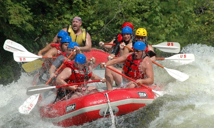 River Rafting Trip for One or Two with a Barbecue Lunch from U.S. Rafting (Up to 55% Off)