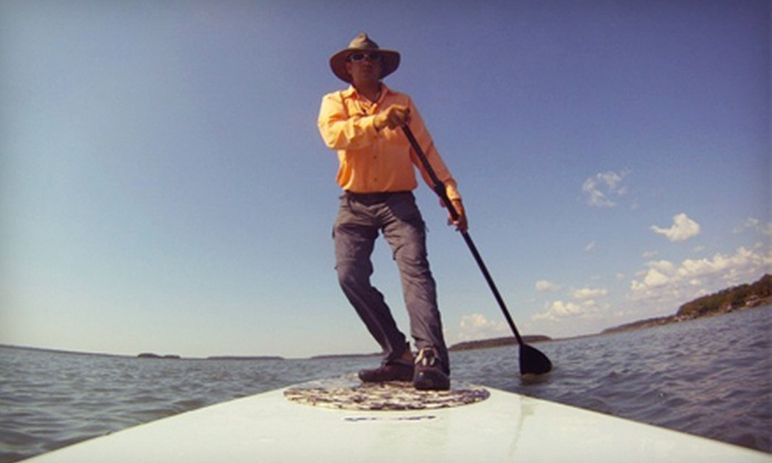 Marsh Grass Adventures - Bluffton: Standup Paddleboarding Tours from Marsh Grass Adventures on Hilton Head Island (Up to 55% Off). Three Options Available.