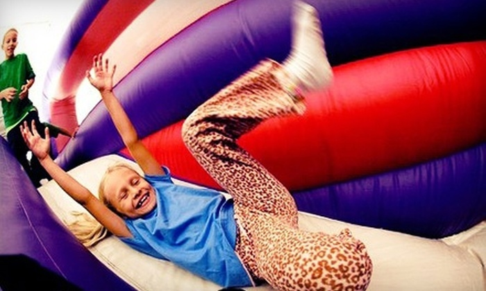 BounceU - Multiple Locations: $21.99 for Four Open-Bounce Visits at BounceU - St. Louis ($39.80 Value)