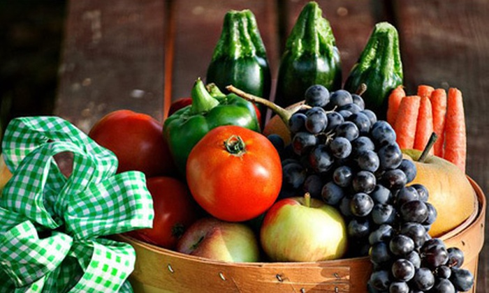 Family Farm Fresh - Ivanhoe: One or Three Mini Baskets of Local Produce with Delivery and Membership Fees from Family Farm Fresh (Up to 57% Off)