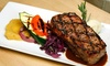 Wildfire Steakhouse & Wine Bar - Cosmopolitan Hotel: Four-Course Dinner for Two, Four, or Six at Wildfire Steakhouse & Wine Bar at Cosmopolitan Hotel (Up to 50% Off)