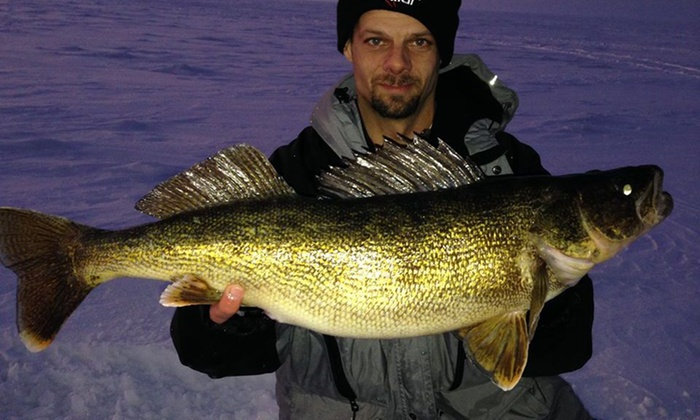 Ice Fishn Magician - Algoma: Eight-Hour Fishing Trip with Optional Meal from Ice fishn magician (45% Off)