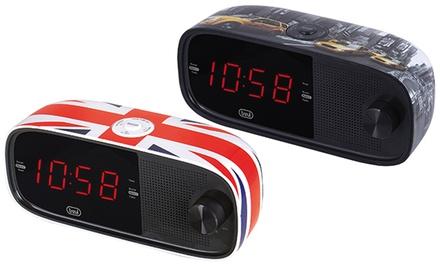 Radiosveglia elettronica Trevi disponibile in 2 tipologie
