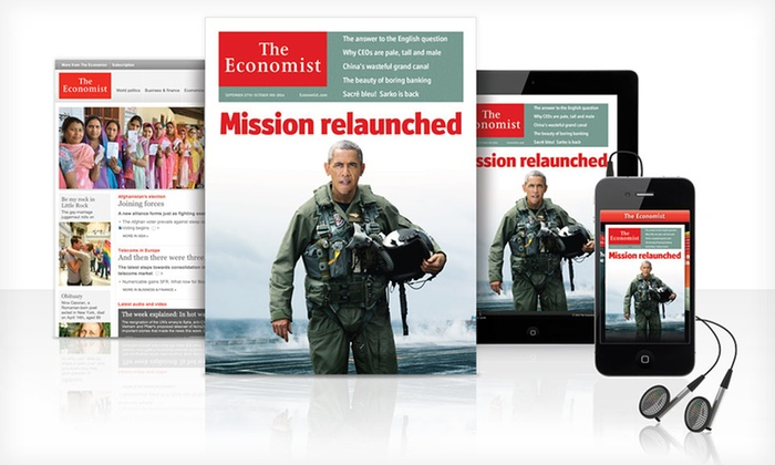 """""""The Economist"""": 51-Week Digital, Print, or Digital and Print Subscription to """"The Economist"""" (HalfOff)"""