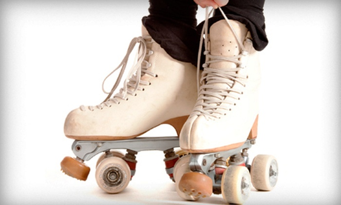 Foothill Skate Inn - Sacramento: Roller-Skating with Skate Rental and Food for Two or Four at Foothill Skate Inn (Up to 54% Off)