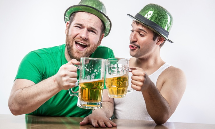 Boston Pub Crawl - Multiple Locations: St. Paddy's Pub Crawl for Two or Four on March 13–17 from Boston Pub Crawl (Up to 56% Off)