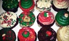 Coronado Cupcakery - Coronado: One Dozen Regular or Assorted Holiday Cupcakes from Coronado Cupcakery (Half Off)