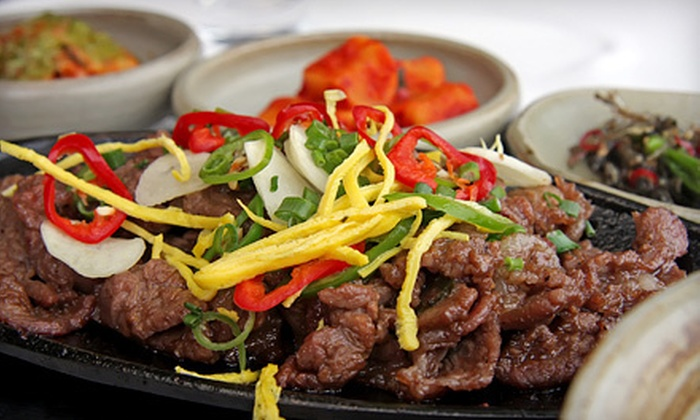 Suldoga - Annandale: Korean Dinner Cuisine at Suldoga (Half Off). Two Options Available.