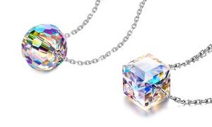 Collier argent sterling cristaux Swarovski®