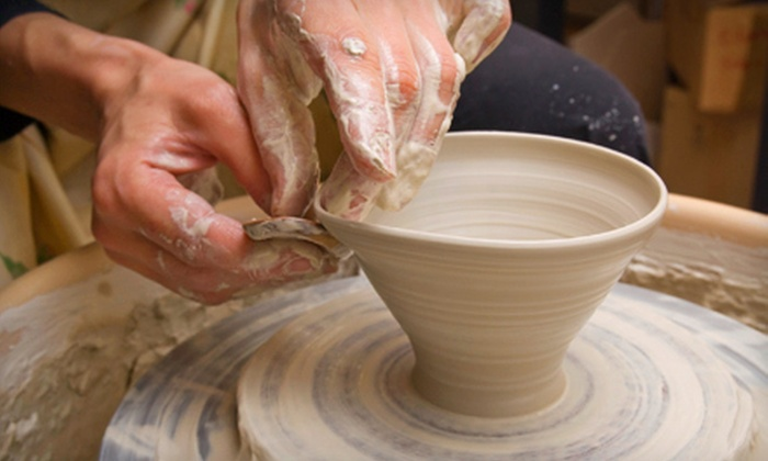 The Mud Room Inc. - Forest Hills: Two-Hour Potter's Wheel Class for Two at The Mud Room (53% Off). 27 Dates Available.