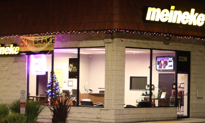 Meineke Oil Change >> Meineke Car Care Center