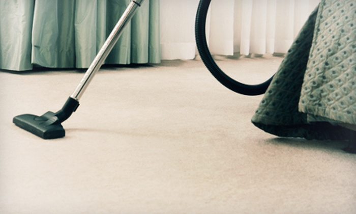 R & R Pro Steam Cleaning - Campbell No. 2: Three Rooms and One Hallway or Entryway of Carpet or Tile Cleaning from R & R Pro Steam Cleaning (67% Off)