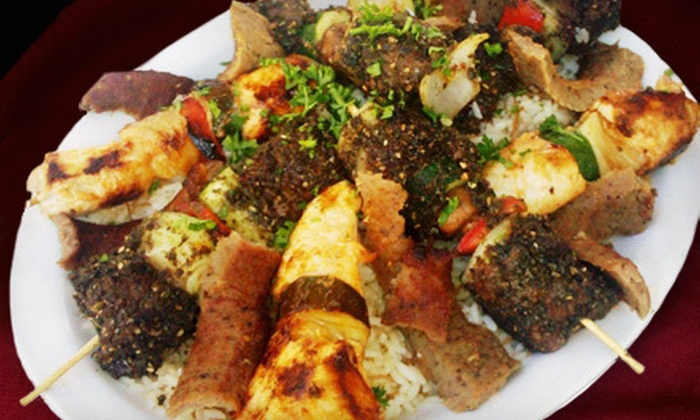 The Armenian Cafe - Carlsbad: $20 for a Pita Lunch with Salads, Sides, and Drinks for Two at The Armenian Cafe (Up to $42 Value)