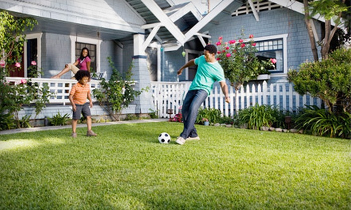Weed Man Lawn Care - Portsmouth: $25 for a Full Weed-Control and Crabgrass Treatment from Weed Man Lawn Care ($57 Value)