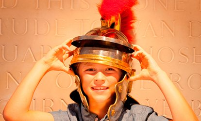 Child, Adult or Family Entry with Hot Drink or Juice and Cake Each at Fishbourne Roman Palace & Gardens (Up to 42% Off)