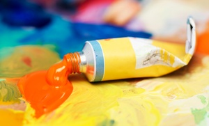 Wine and Design: Two-Hour BYOB Canvas-Painting Class at Wine & Design (Up to 46% Off)