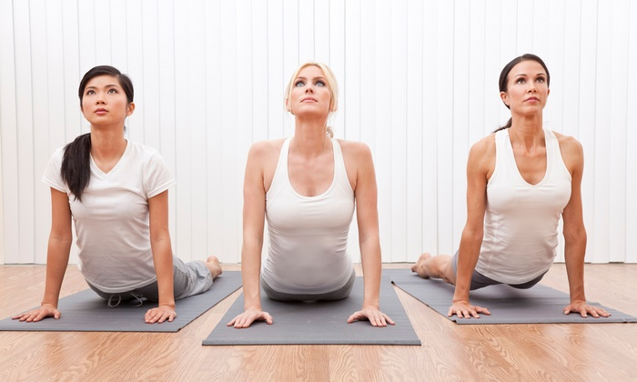 The Place - Chicopee: Six Yoga Classes with Optional 30-Minute Massage at The Place (Half Off)