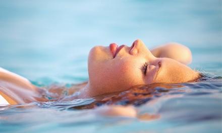Terapia de flotación con hidratación flash por 24,90 €, con masaje desde 29,90 €, peeling e hidratación desde 39,90 €