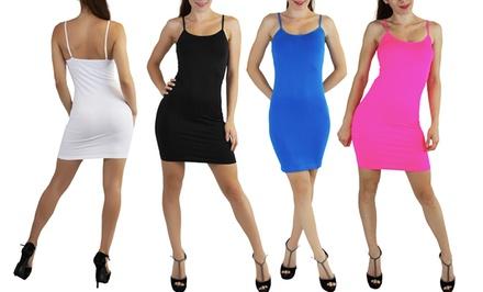 3-Pack of Mini Slip Dresses