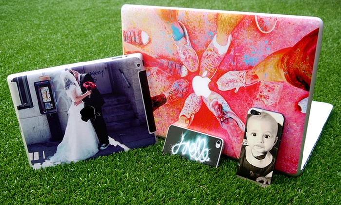 Custom Phone, Tablet, and Laptop Skins: Personalized Phone, Tablet, Video Game Console Controller, and Laptop Skins from Cap That. Free Shipping.