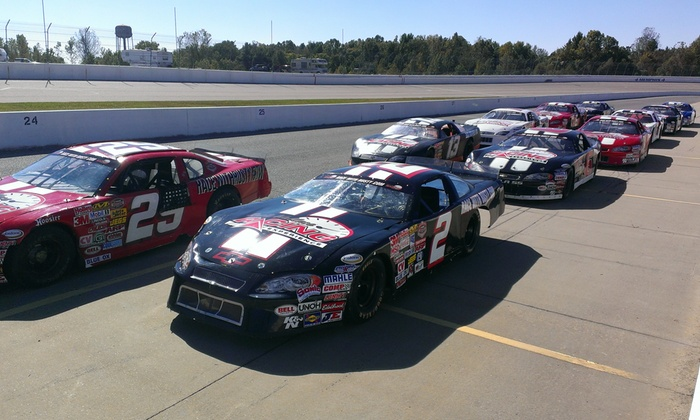 Rusty Wallace Racing Experience - Evergreen Raceway Park: Short-Track Racing Experience or Ride-Along at Rusty Wallace Racing Experience (Up to 55% Off)