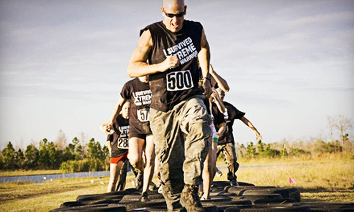 Xtreme Mud Warrior - Omega Ranch: Xtreme Mud Warrior Race for One or Two at Omega Ranch on Saturday, October 20 (Up to 53% Off)