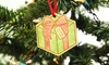 2712 Designs: One, Two, or Three Personalized Color Me Ornaments (Up to 61% Off)