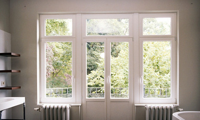 Airductor Solution - Chicago: Interior and Exterior Cleaning for 20 or 40 Windows from Airductor Solution (Up to $330 Value)