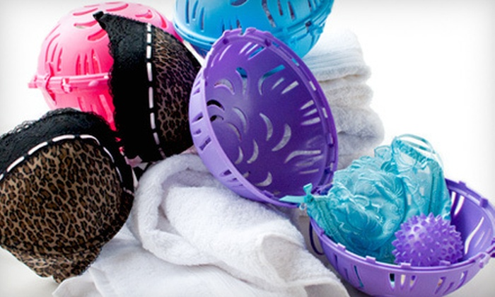 Delicates and Lingerie Washer: One or Two Berry Ball Bra-and-Underwear-Cleaning Kits with Shipping Included (Up to 44% Off). Multiple Sizes and Colors Available.