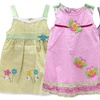 Sweet and Soft Toddlers' Seersucker Dresses