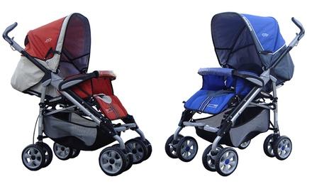 BeBeLove Deluxe Travel Stroller