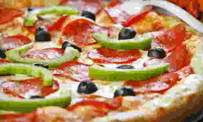Gozzetti's Pizzeria - Sterling Ridge: $10 for $20 Worth of Pizza, Calzones, Wings, and Subs at Gozzetti's Pizzeria