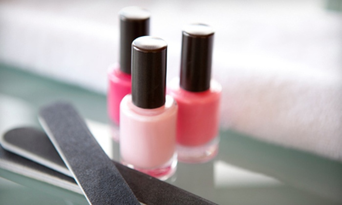 Perfect Design Nail Salon - Branham - Kirk: Regular or Deluxe Mani-Pedi at Perfect Design Nail Salon (Up to Half Off)